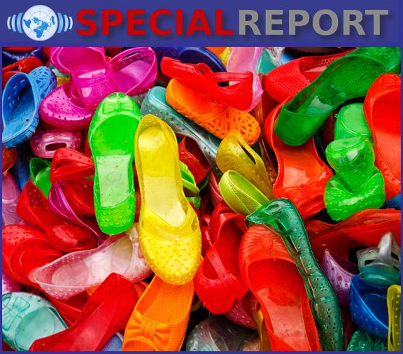 plastic-shoes